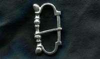 Medieval Buckle 5 Top to